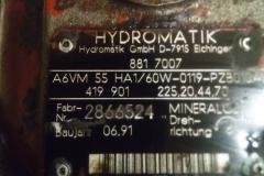 Гидромотор Rexroth A6VM55