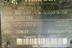 Гидромотор аксиально-поршневой Rexroth A6VE107