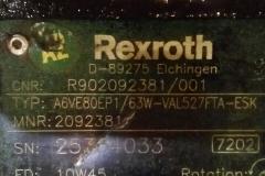 Регулируемый гидромотор Rexroth A6VE80