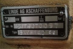 Гидромотор Linde BMV140