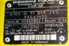 Гидронасос Brueninghaus  Hydromatik A10VO71