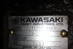 Гидронасос Kawasaki K3V112